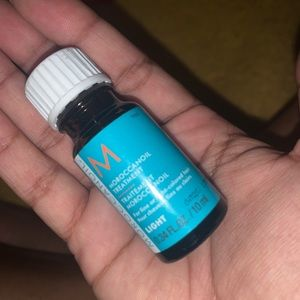 Mini hair oil
